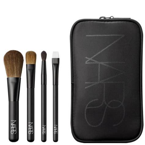 Kuas Make Up Kosmetik Hk Hello Travel Brush Set Helo Kity Kaleng nars cosmetics bag and travel brushes