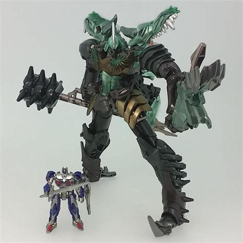 09 Megatron Voyager Transformers 5 The Last takara age of extinction grimlock