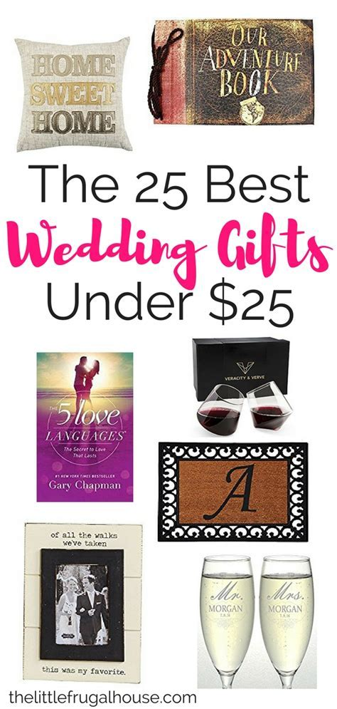 The 25 Best Wedding Gifts Under $25   The Little Frugal House