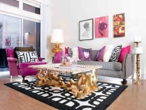 white gray red living room design
