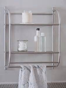 bathroom shelf with towel bar brushed nickel brushed nickel 2 tier wall shelf with towel bar