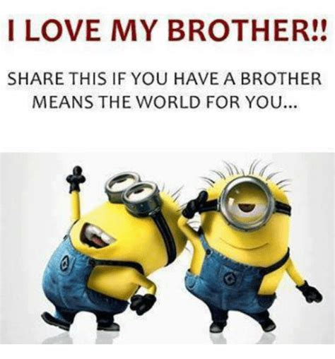 love  brother share      brother means