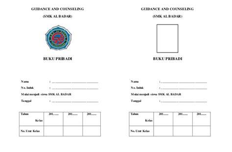 format buku catatan pribadi siswa sd buku pribadi siswa