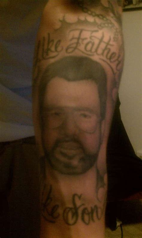 like father like son tattoo like like