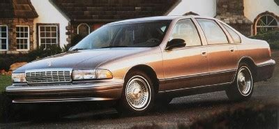 1996 chevrolet caprice howstuffworks