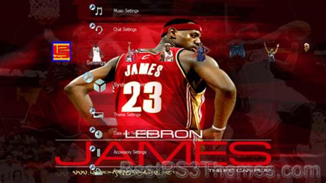 themes by james three free themes lebron james