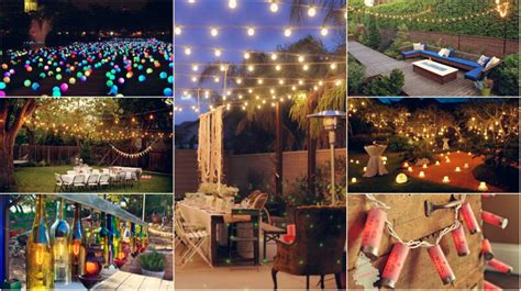backyard lighting ideas for a party 10 diy outdoor party lighting ideas diy smartly