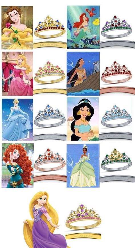 disney princess colors 42 best disney ring images on disney rings