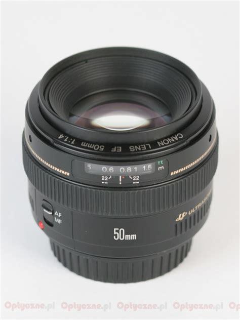 Canon Ef 50mm F1 4 Usm lenstip lens review lenses reviews lens