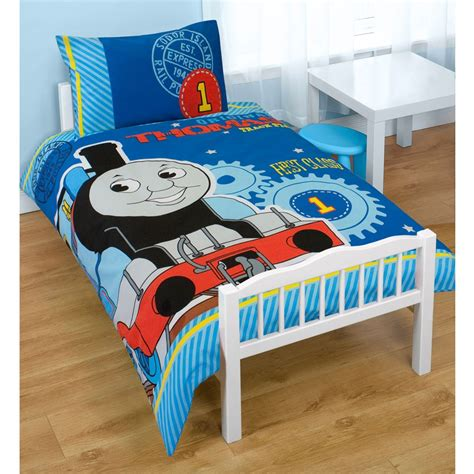 thomas and friends bed thomas friends junior cot bed duvet set bundle 4 in 1 ebay