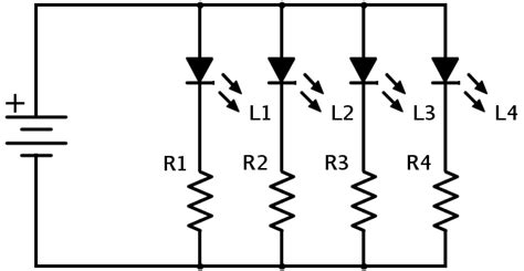 resistor array schematic led array resistor size power source electrical