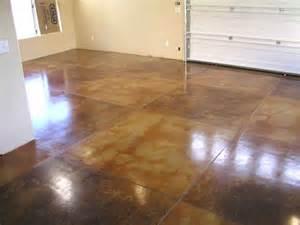 acid stain gallery interior