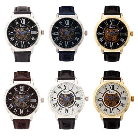 Oulm Jam Tangan Analog Hp3688 Blackblack oulm jam tangan analog hp3688 golden blue