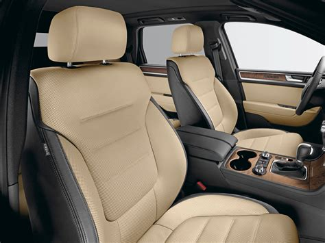Interior Upholstery For Cars by Volkswagen Touareg Exclusive 2011 Cartype