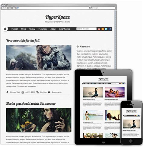 Theme Blog Responsive Wordpress | 35 best free responsive wordpress themes of 2012 designbeep