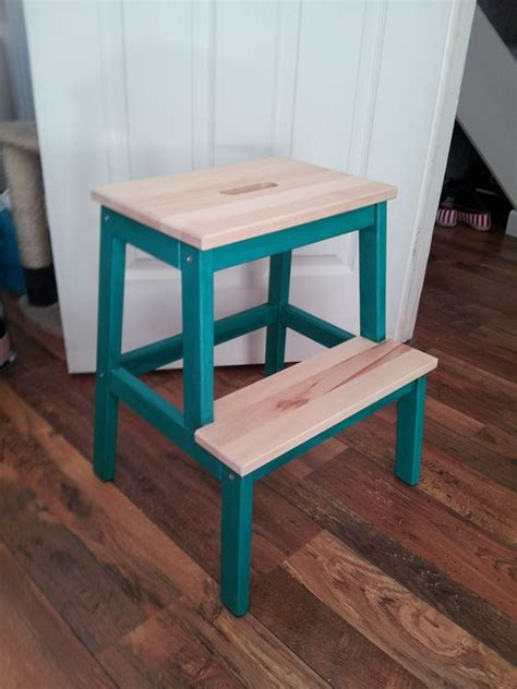 pet steps made from an ikea bekv m step stool ithlia pinterest the world s catalog of ideas