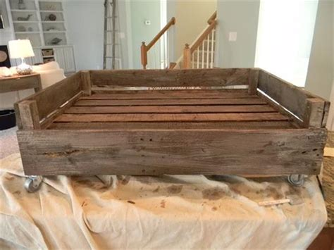 pallet dog bed plans dog bed made from pallets pallet furniture plans