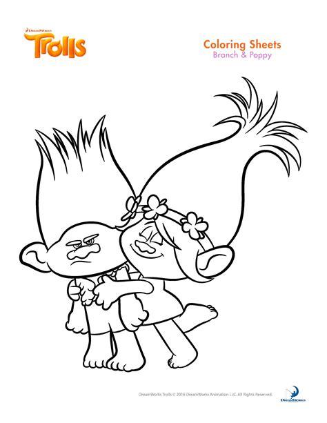 coloring page princess poppy princess poppy trolls coloring page print coloring pages