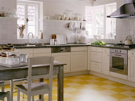 retro kitchen ideas 2018 linoleum flooring in the kitchen hgtv