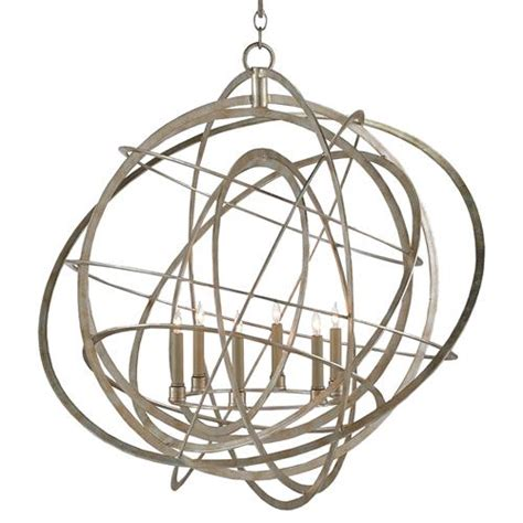 Silver Orb Chandelier Atomic Modern Classic Silver Leaf Orb Chandelier Kathy Kuo Home