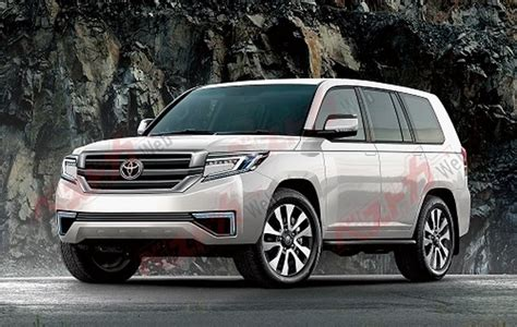2020 Toyota Land Cruiser by Ninth Toyota Land Cruiser 2020 To Be Launched With No