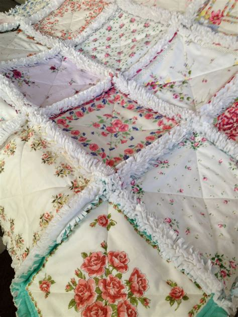 How Do You Make Quilts by Zeedlebeez How To Make A Handkerchief Rag Quilt