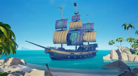 Black And The Ship Of Thieves sea of thieves newest patch adds legendary ship