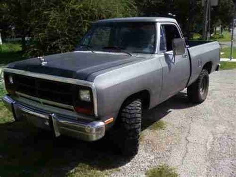 purchase used 86 dodge w150 power ram 4x4 in