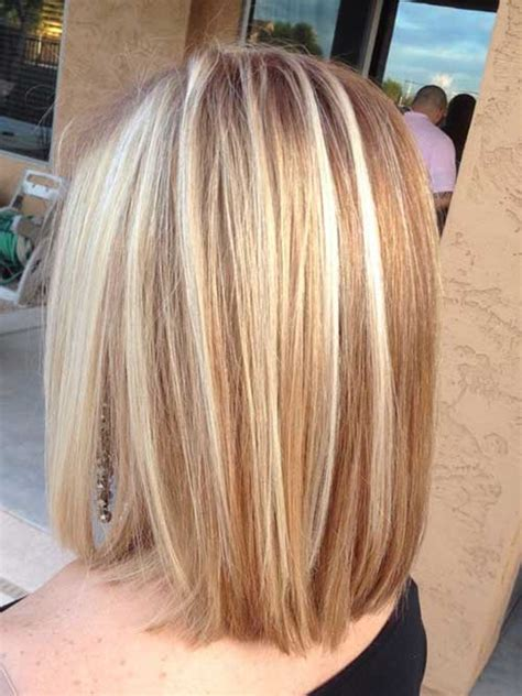 long bob hairstyles with low lights elegant short highlighted hair color ideas short