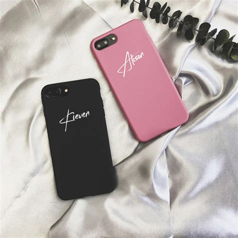 customize  letter case cover  iphone