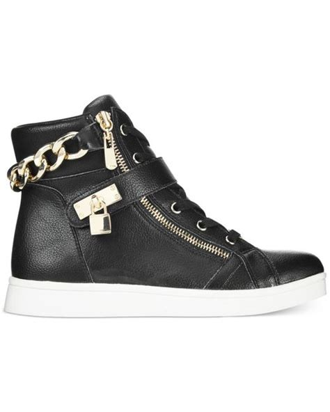 bebe sport shoes bebe sport kandee high top sneakers in black save 31 lyst