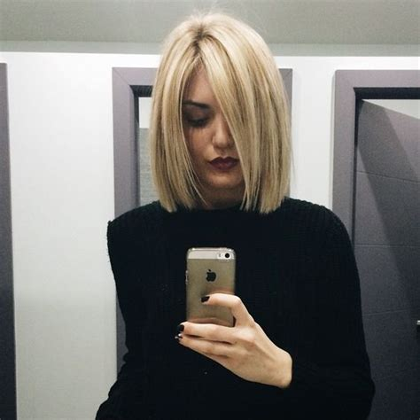 blonde blunt haircut images blunt haircut blonde highlights and haircuts on pinterest