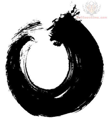 zen circle tattoo designs circle images designs