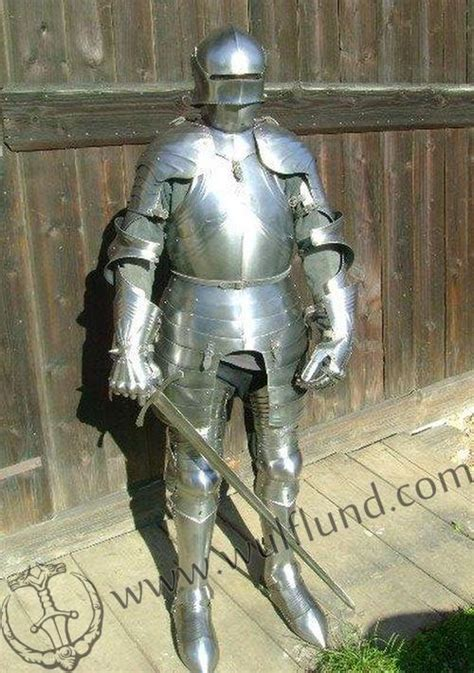 Handmade Armor - linen gambeson padded with sleeves wulflund