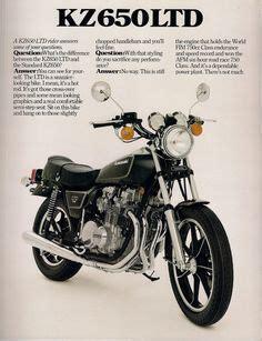 Werbung Kawasaki Motorrad by Kawasaki Z 750 Prospekt Bikes Autos Und