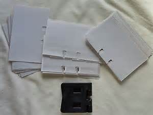 rolodex business card punch rolodex business card punch 32 count clear business card sleeves two sided what s it worth