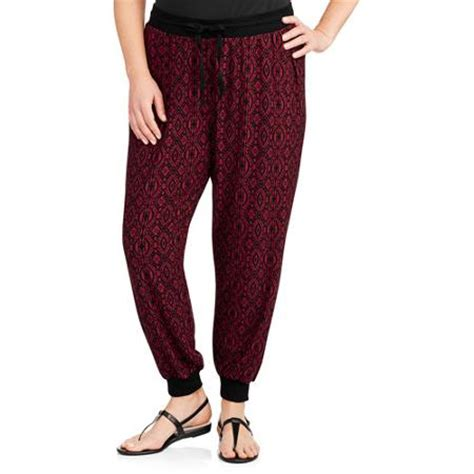 cheap patterned joggers women s plus size super soft printed jogger pants