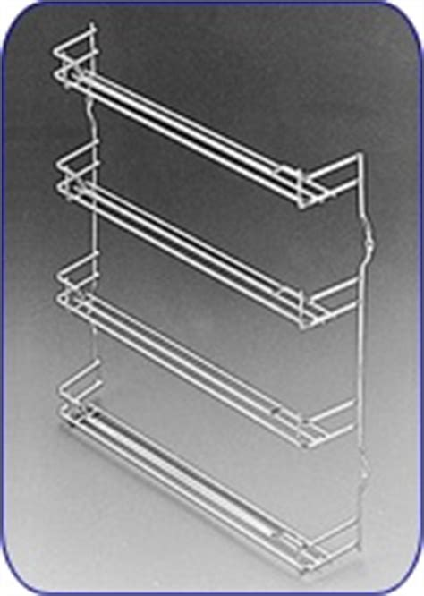 steel wire door mount spice racks in chrome and chagne 17 best images about spice storage on pinterest jars