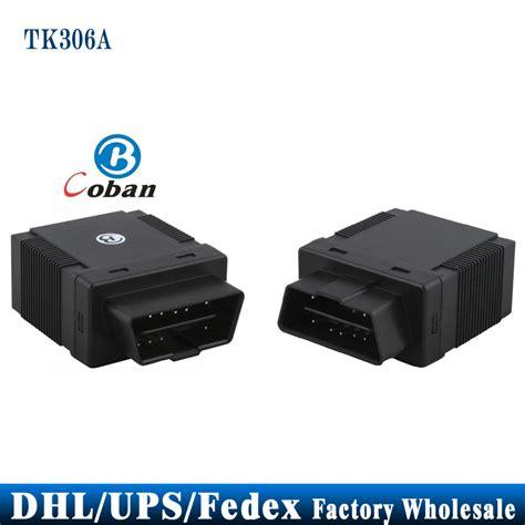 Vehicle Gps Tracker Obd2 Afv002t Promo dhl fedex ups 10pcs lot obdii vehicle gps tracker obd2 tracking system can locate manage obd