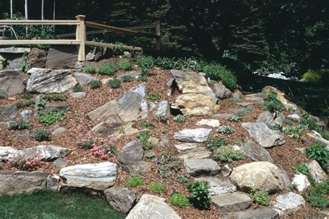 garden rock a rock garden to celebrate and a wedding