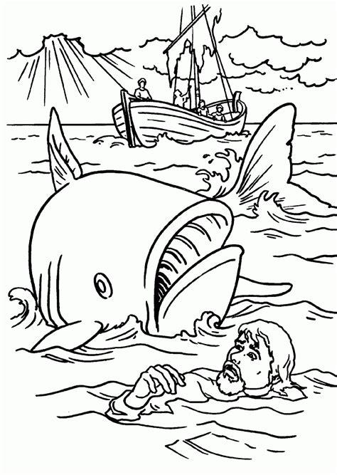 imagenes para colorear jonas jonas y el gran pez dibujos para colorear