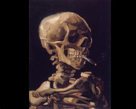 imagenes de una calavera fumando fotos los cuadros m 225 s famosos de vincent van gogh