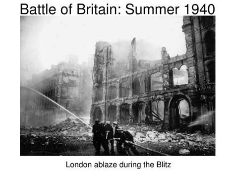 battle of britain 1940 the luftwaffeâ s â eagle attackâ air caign books ppt world war ii 1939 1945 powerpoint presentation id