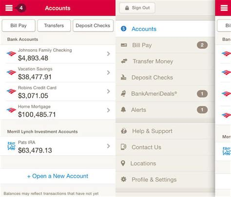 app bank of america bank of america s updated app creates a wonderful mobile