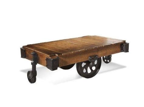 Railroad Cart Coffee Table Railroad Cart Coffee Table 4 Francis Railroad Carts Pinterest