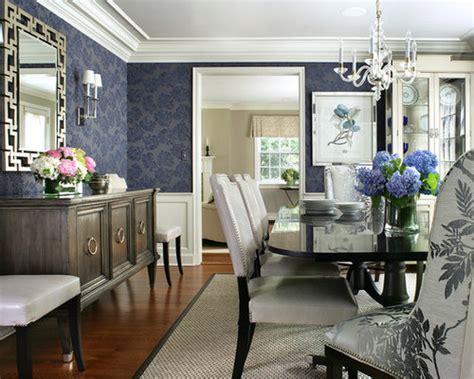navy blue dining room houzz