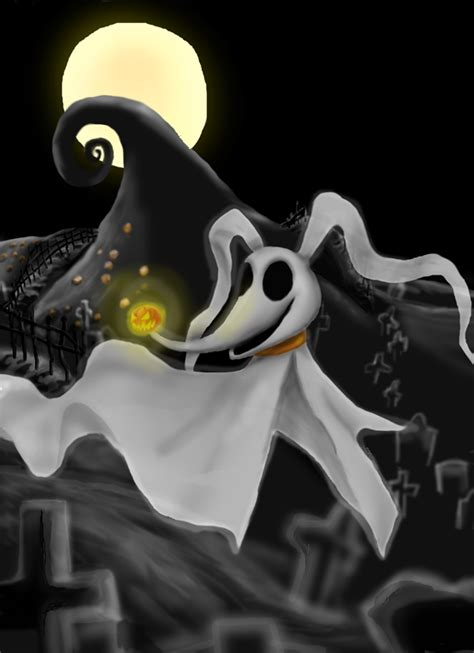 puppy nightmares nightmare before chirstmas zero the ghost images zero hd wallpaper and background