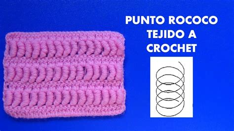 imagenes de cuellos a crochet imagui como tejer el punto rococo a crochet o ganchillo paso a