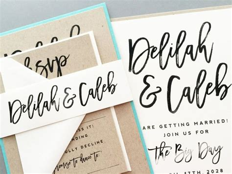 how to write calligraphy for wedding invitations wedding invitation wedding invite modern calligraphy