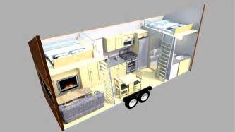 Shower Only Bathroom Floor Plans by The Escape Traveler Is A Tiny House On Wheels Spasique